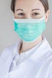 Mascarilla médica Imagen de archivo libre de regalías