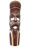 Mascarilla nativa africana de madera Foto de archivo libre de regalías