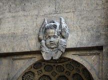 Mascaron angel Stock Images