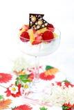 mascarpone десерта стоковая фотография rf