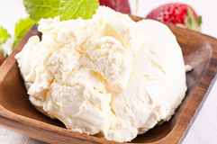 Mascarpone Stock Image