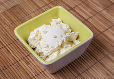 Mascarpone cheese Royalty Free Stock Photos