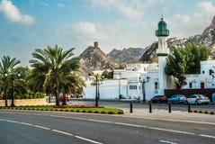 Mascat, Oman. Landscape of Mascat, Oman's capital Stock Photos