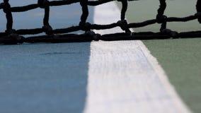 Maschen von Tennis stock video