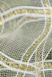Maschengewebe für Blumenblumenstrauß lizenzfreie stockbilder