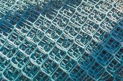 Maschenspulen für Zaun a Stockfotografie