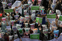 MASCHERA Fotografia Stock Libera da Diritti