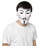 Maschera anonima Immagine Stock Libera da Diritti