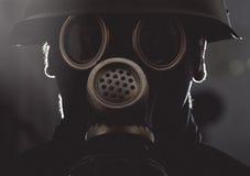Maschera antigas Fotografie Stock