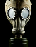 Maschera antigas isolata Fotografia Stock Libera da Diritti