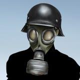 Maschera antigas WW2 Fotografia Stock Libera da Diritti