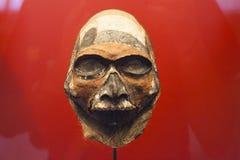 Maschera asiatica antica Fotografia Stock Libera da Diritti