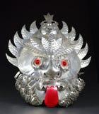 Maschera azteca grottesca Fotografie Stock Libere da Diritti