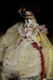 Maschera carneval veneziana Immagini Stock Libere da Diritti