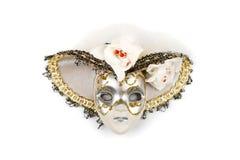 Maschera decorata con il cappello fotografia stock libera da diritti