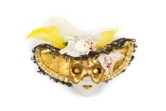 Maschera decorata dell'argilla fotografia stock