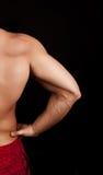 Maschera dei muscoli immagini stock