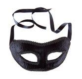 Maschera del nero di Beautoful Fotografie Stock