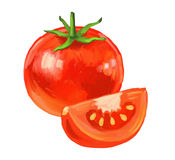 Maschera del pomodoro Fotografie Stock