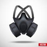 Maschera del respiratore Fondo di bianco di vettore royalty illustrazione gratis