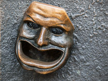 Maschera del teatro Fotografie Stock