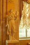 Maschera del teatro nella sezione del palazzo di Albertina Museum immagini stock libere da diritti