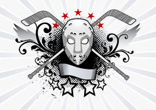 maschera dell'hockey Immagine Stock
