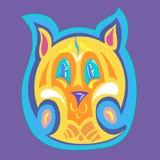 Maschera della tigre Immagine Stock