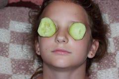 Maschera della vitamina fotografie stock libere da diritti