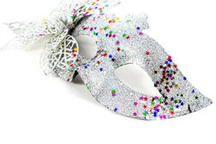 Maschera di carnevale decorata Immagini Stock