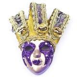 Maschera di carnevale decorata con le progettazioni Immagine Stock