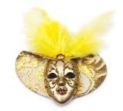 Maschera di carnevale decorata con le progettazioni Fotografie Stock