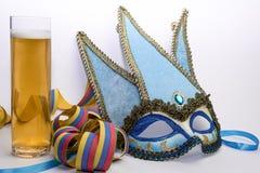 Maschera di carnevale di Venezia Immagine Stock Libera da Diritti