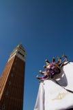 Maschera di carnevale di Venezia da vendere Fotografia Stock