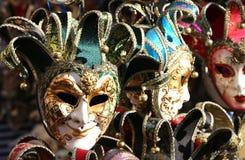 Maschera di carnevale di Venezia Italia da vendere nel negozio Immagine Stock Libera da Diritti