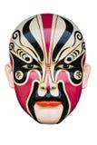 Maschera di carnevale isolata su bianco Fotografia Stock