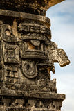 Maschera di Chac, il dio maya antico di pioggia e di fulmine Fotografia Stock Libera da Diritti