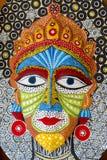 Maschera di dimensione del fronte della regina una grande Fotografia Stock Libera da Diritti