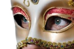 Maschera di fascino Fotografie Stock