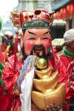 Maschera di Fu LU Shou Fotografia Stock Libera da Diritti