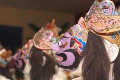 Maschera di Giava di tradiional Fotografia Stock