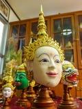 Maschera di Khon. Fotografia Stock