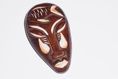 Maschera di legno di Afican Fotografie Stock