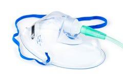 Maschera di ossigeno dell'ospedale fotografia stock