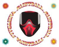 Maschera di paintball Immagine Stock