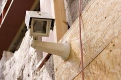 Immagine di una videocamera di sicurezza, foto di riserva Immagine Stock