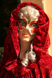 Maschera di Venecian Immagini Stock Libere da Diritti