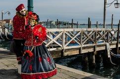 Maschera di Venezia Fotografie Stock Libere da Diritti
