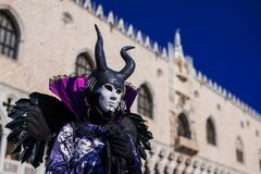 Maschera di Venezia Carnevel fotografie stock