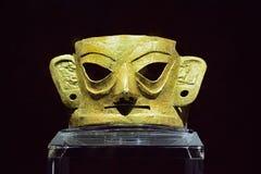 Maschera di Zhou Daikin e di Shang Immagine Stock